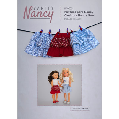 Tutorial de falda de volantes para Nancy Clásica y Nancy New