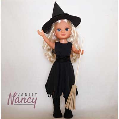 Disfraz de bruja para Nancy New