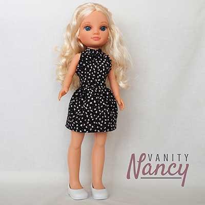 Nancy New con vestido Puzzle