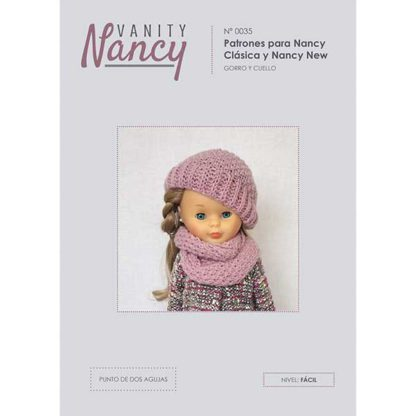 Tutorial de gorro y bufanda para Nancy